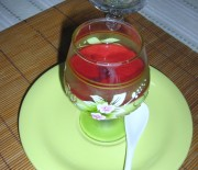 Panna Cotta verveine et fruits rouges
